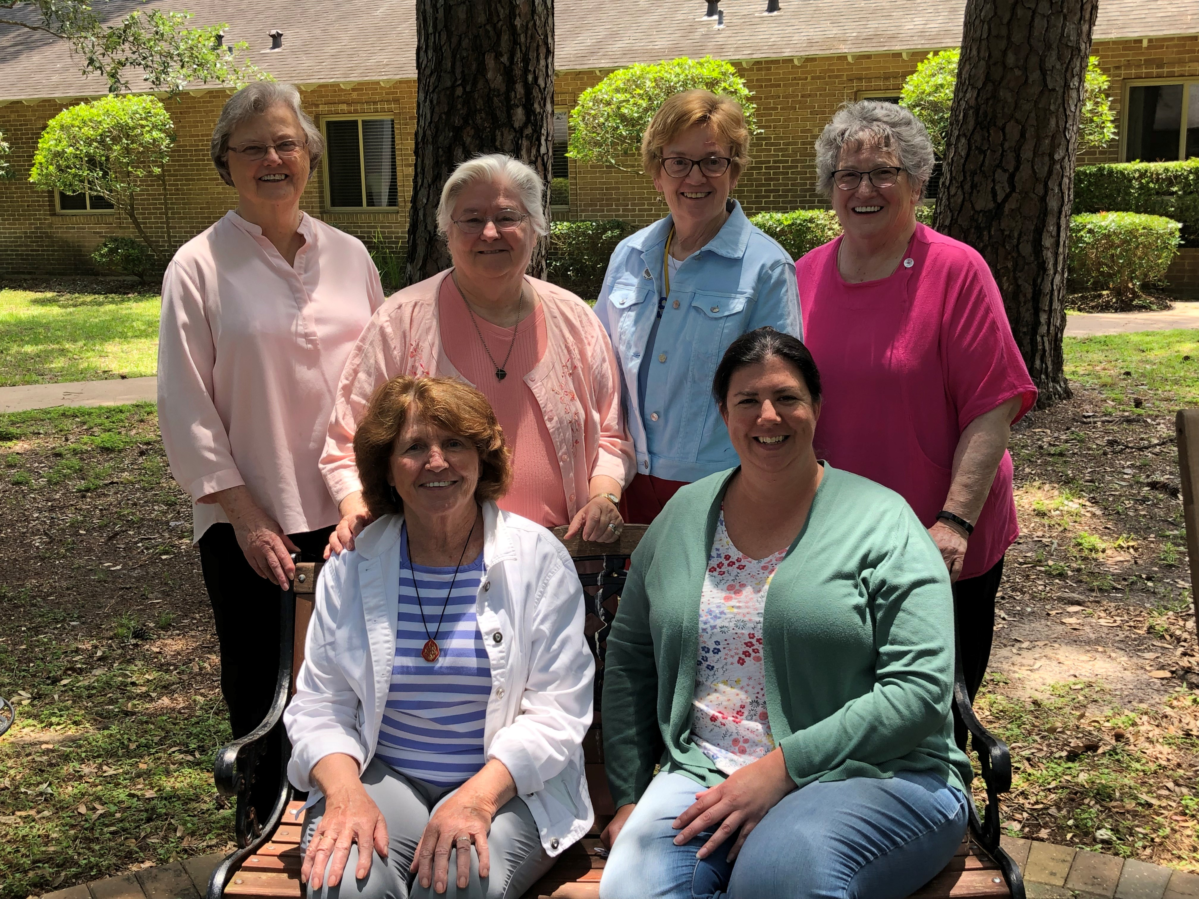 A group of CSSJ associates at the North American Conference of Associates and Religious (NACAR) 2019 leadership retreat. (Photo provided by Judy Swett)